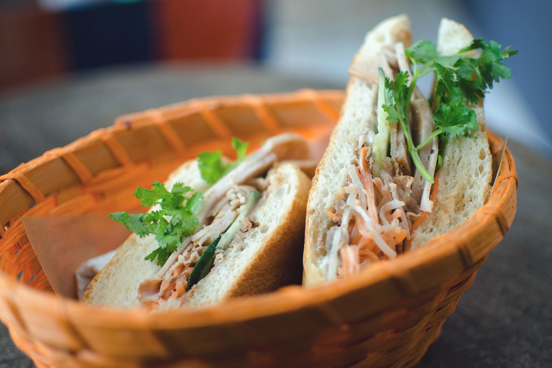 Bánh mì, eine Spezialität in dem Restaurant  – ©1980