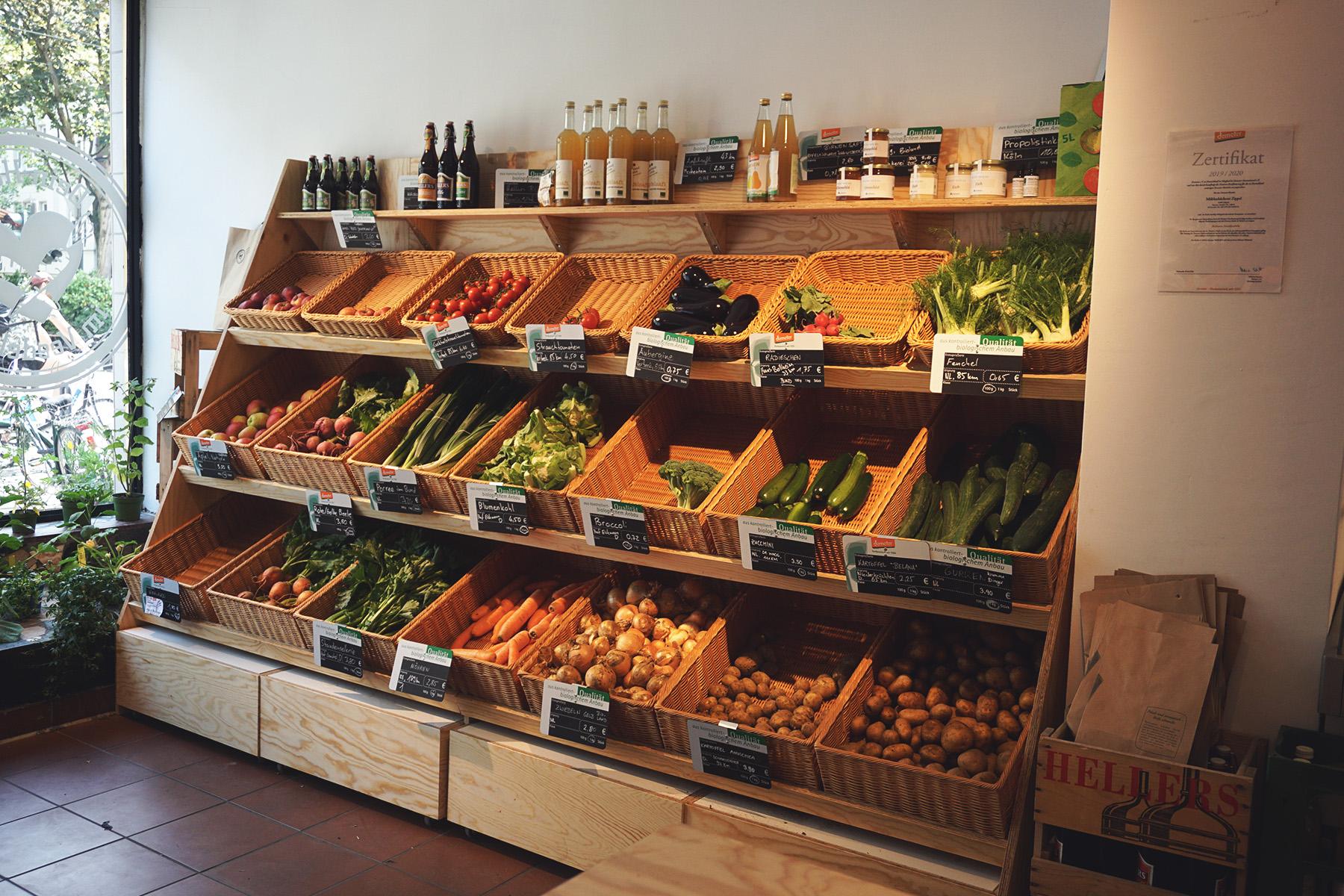 Gemüse, Obst, Hofladen, Sülz – ©Hofladen im Veedel