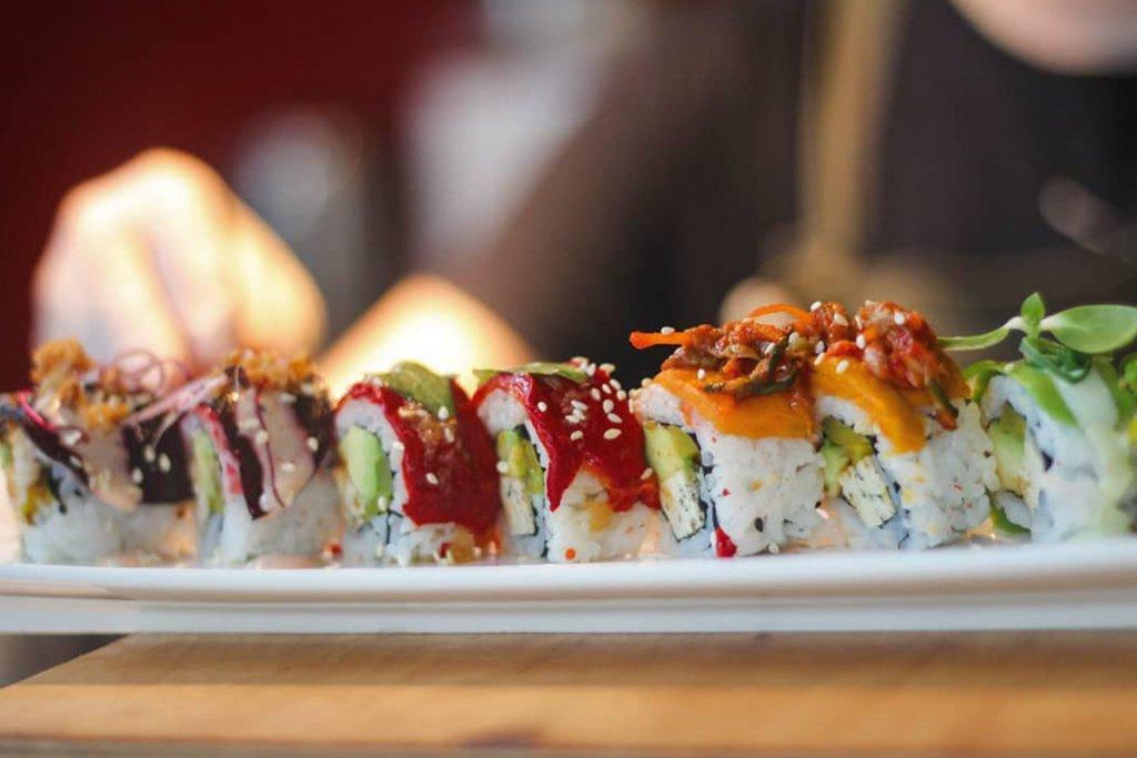 Sushi, vegan, Köln – ©MAKIMAKI