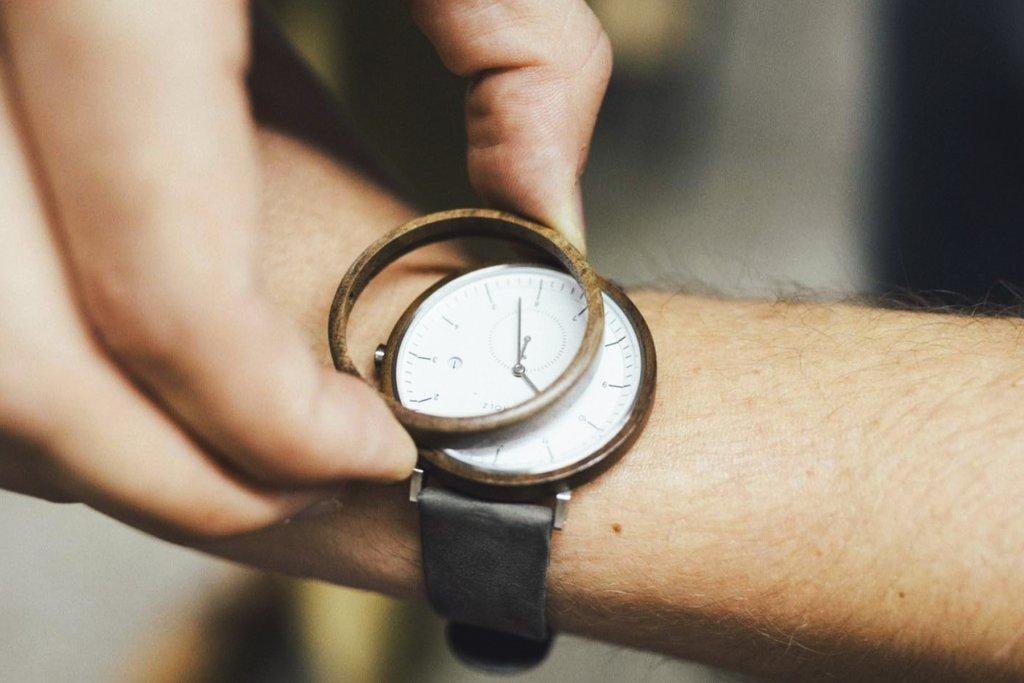 Uhr, Kerbholz – ©Kerbholz
