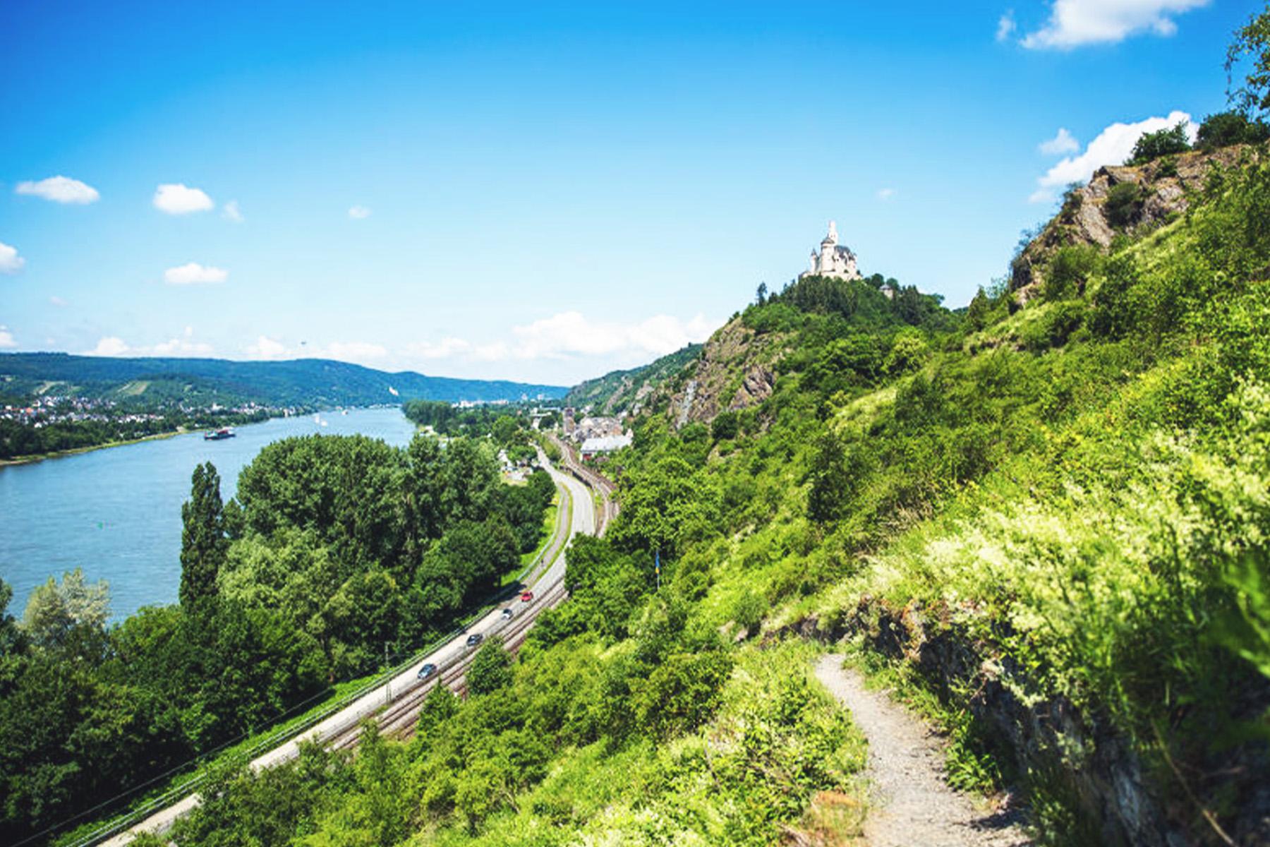 Wandern, Rhein, Ausflug – ©Henry Tornow