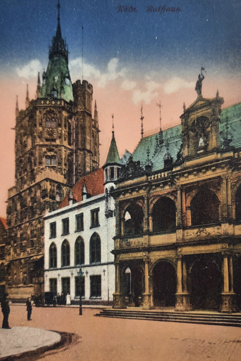 Rathaus, Köln – ©Privatsammlung Gregor Nagler