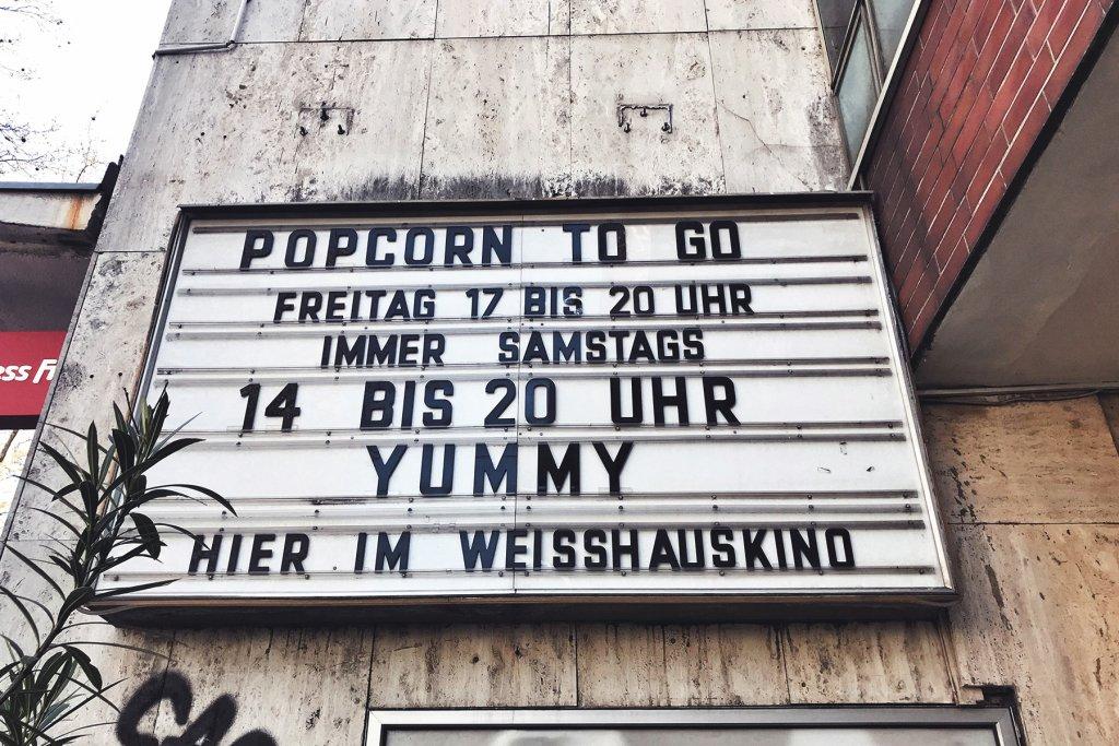 Kino, Popcorn – ©Clara Schlicker