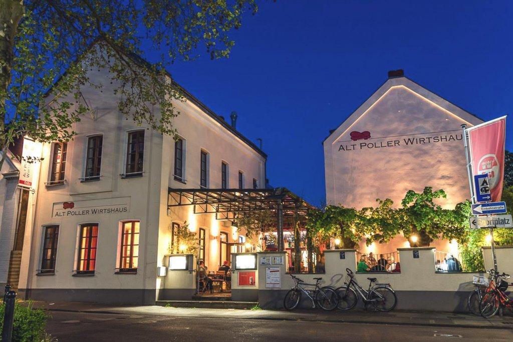 Biergarten – ©Alt Poller Wirtshaus