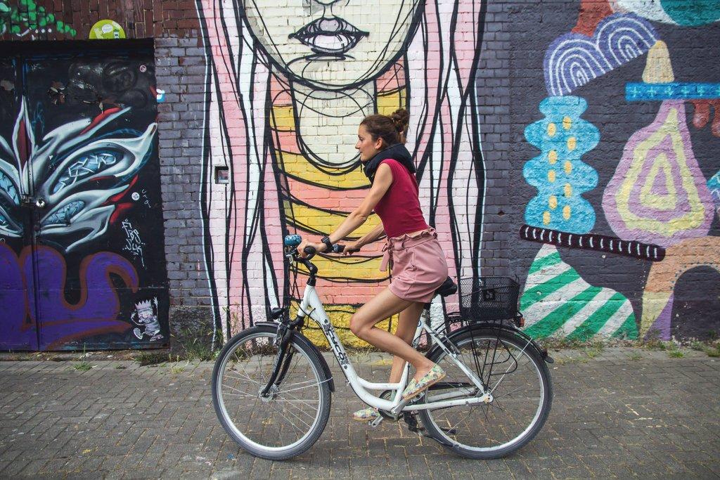 Hövding, fahrrad, Köln