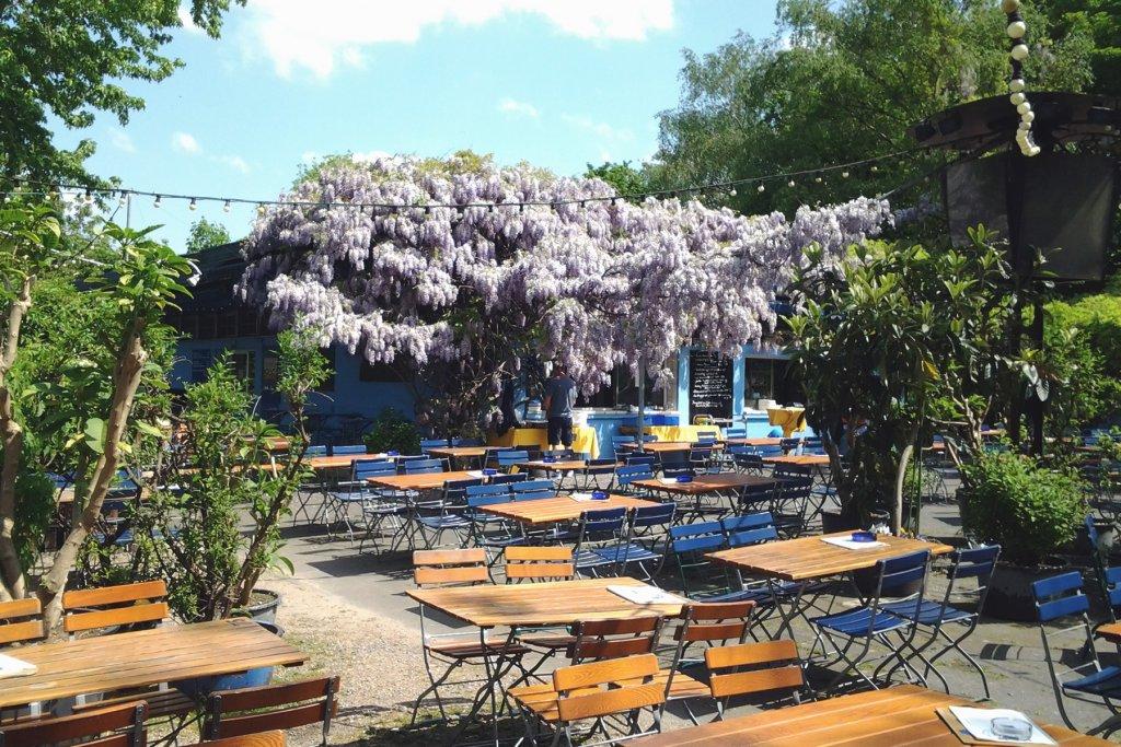 Biergarten – ©Rhein-Sommergarten