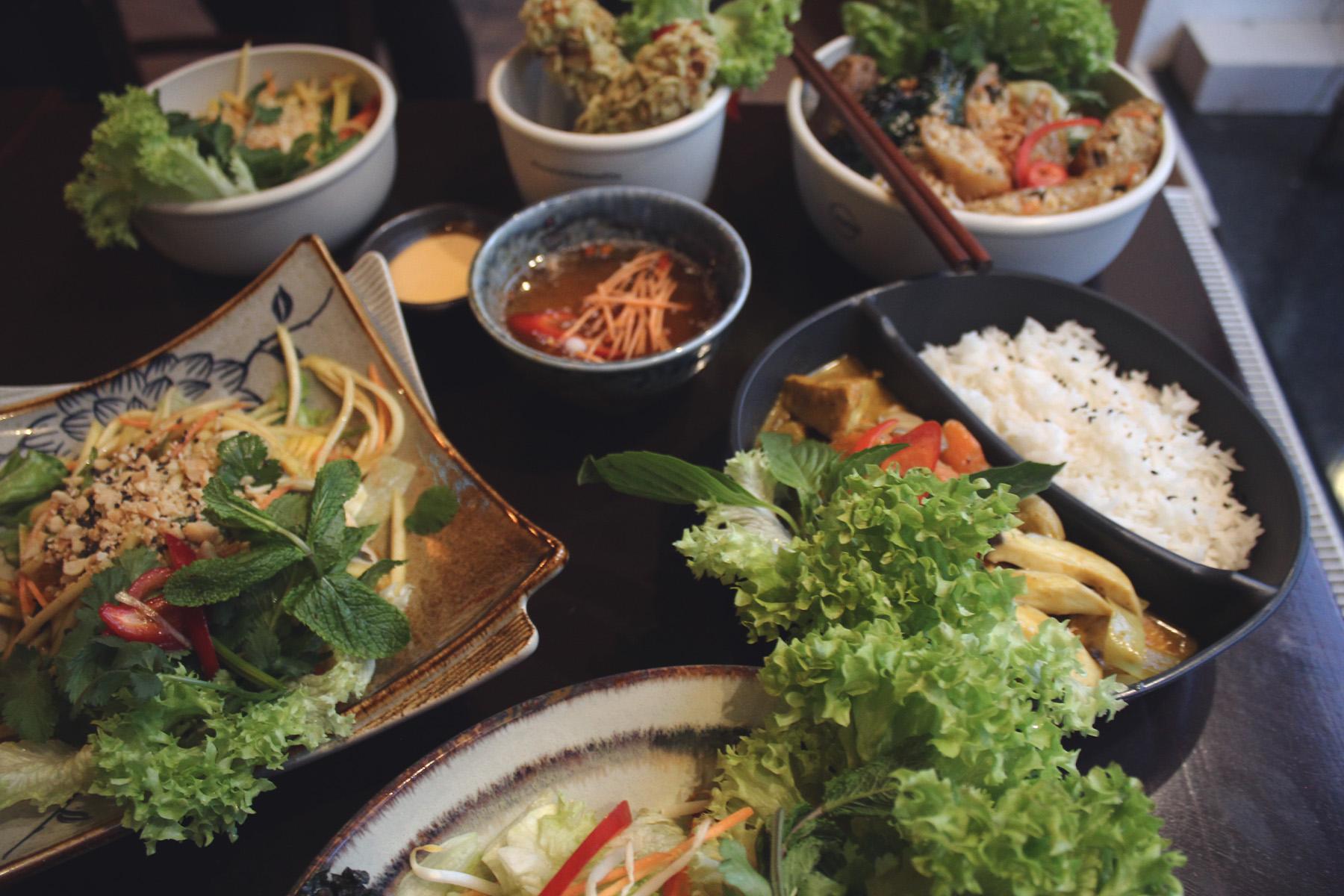 Vegan, Asiatisch, Food – ©Veggie Vu