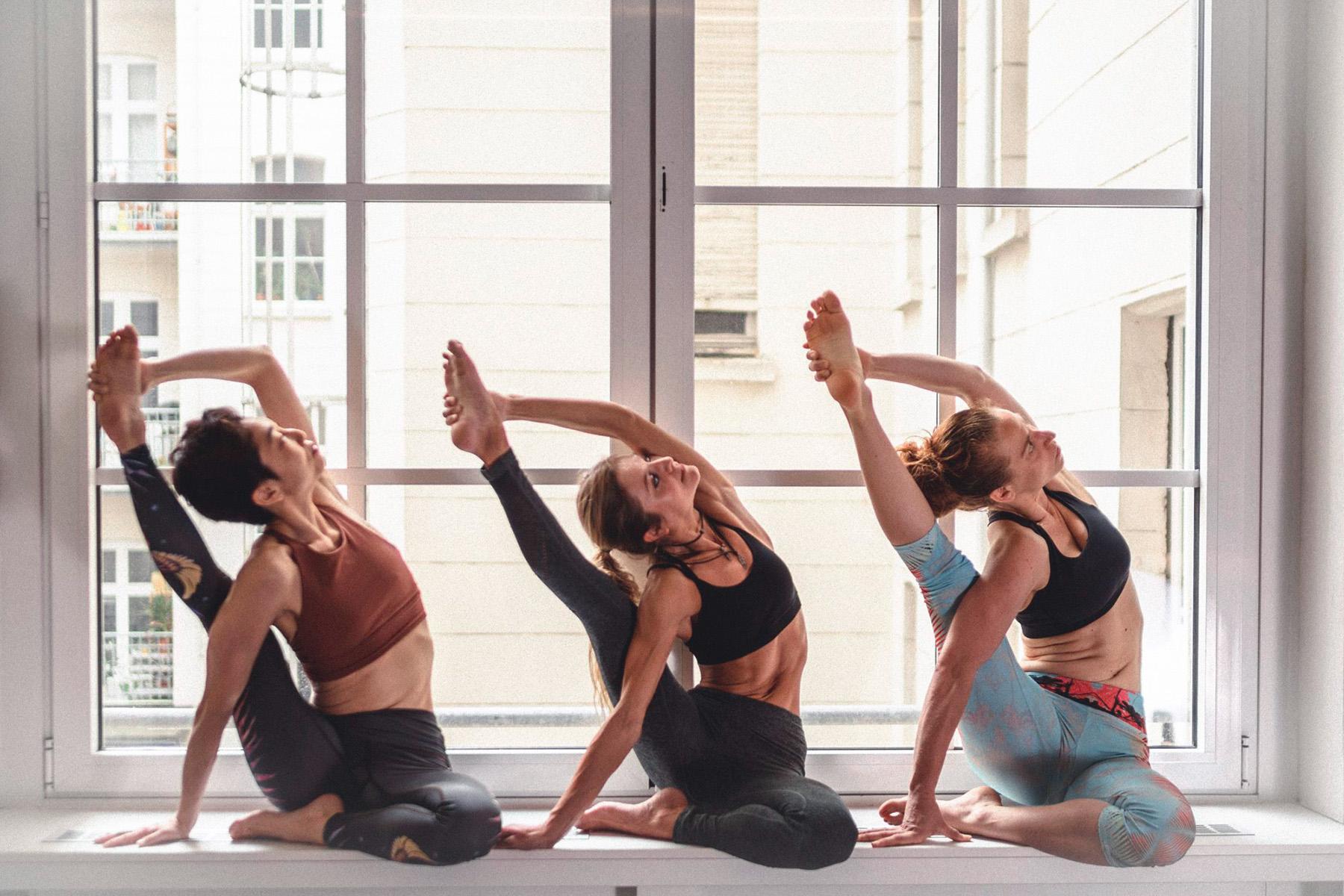 Hot Yoga – ©Yoga39°