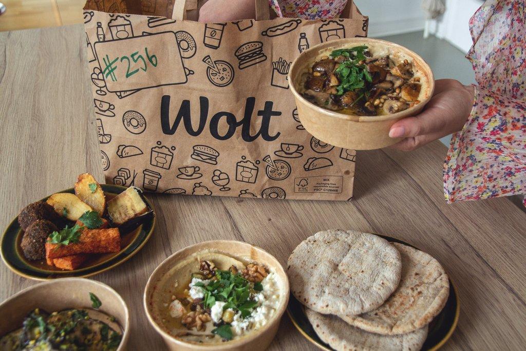 Wolt, Food