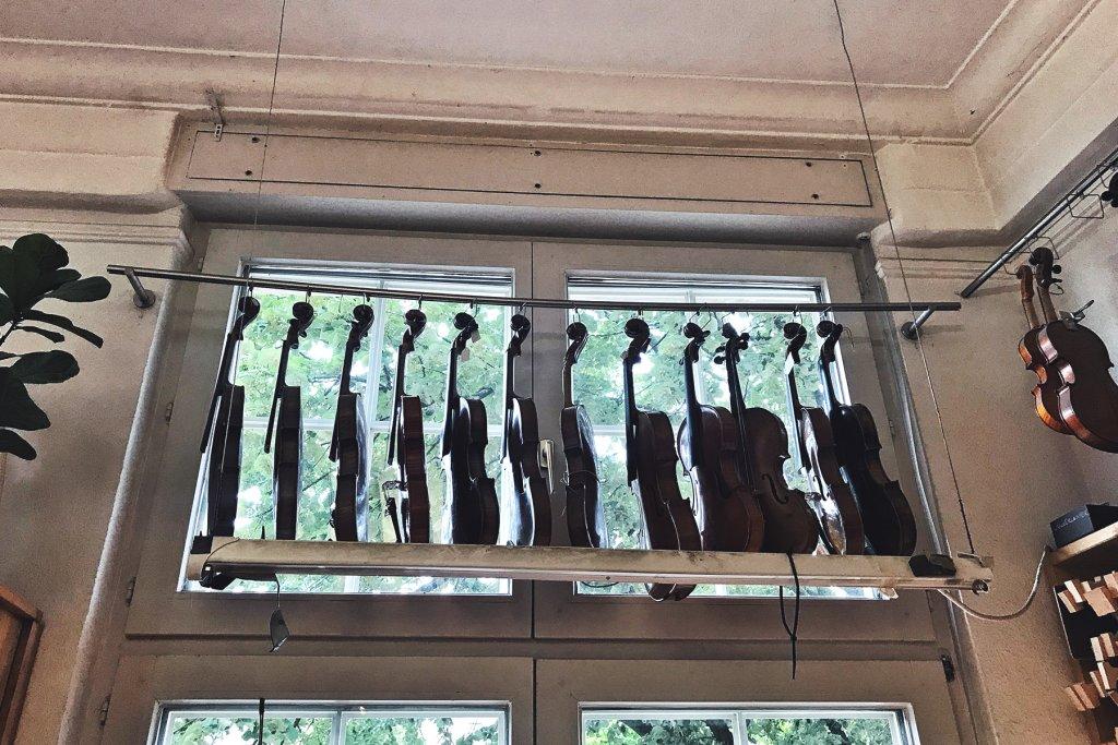 Geigenbau Kress Koeln 12 Artikel – ©Clara Schlicker